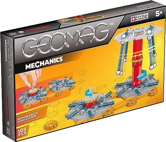 Geomag- Mechanics Construcciones magnéticas y juegos educativos, Multicolor, 103 Piezas (726) , color/modelo surtido: Amazon.es: Juguetes y juegos