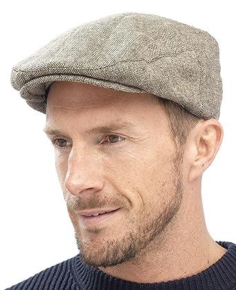 Tom Franks Mens Traditional Flat Cap  Amazon.co.uk  Clothing aa9fe9ce702
