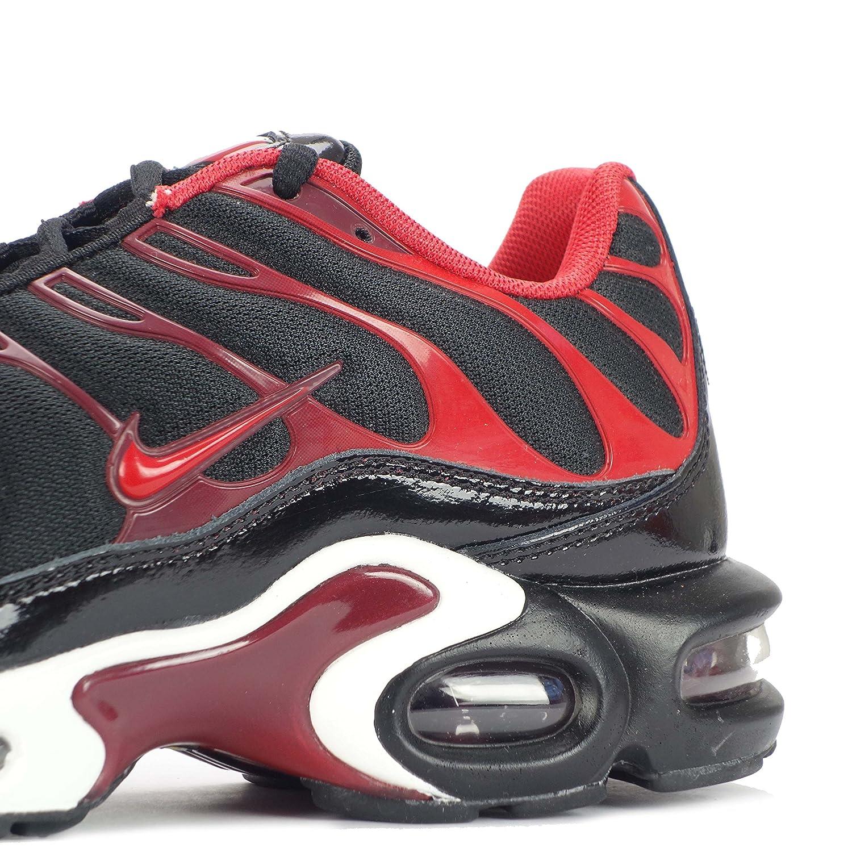 Nike Air Max Plus Partido Blanco Y Negro Roja Ss8KnnG
