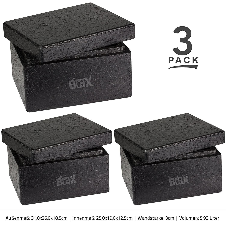 Profi Box S 31,0 x 25,0 x 18,5 cm, Pared: 3,0 cm, V=5,93 L ...