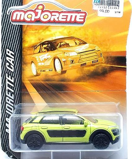 Majorette CITROEN C4 Cactus Model Racing car Yellow Diecast