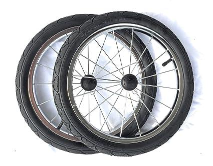 Rueda de 2 ruedas de repuesto para carro Trailer Mochila Trekking Senderismo Trailer Angel Carrito organillo
