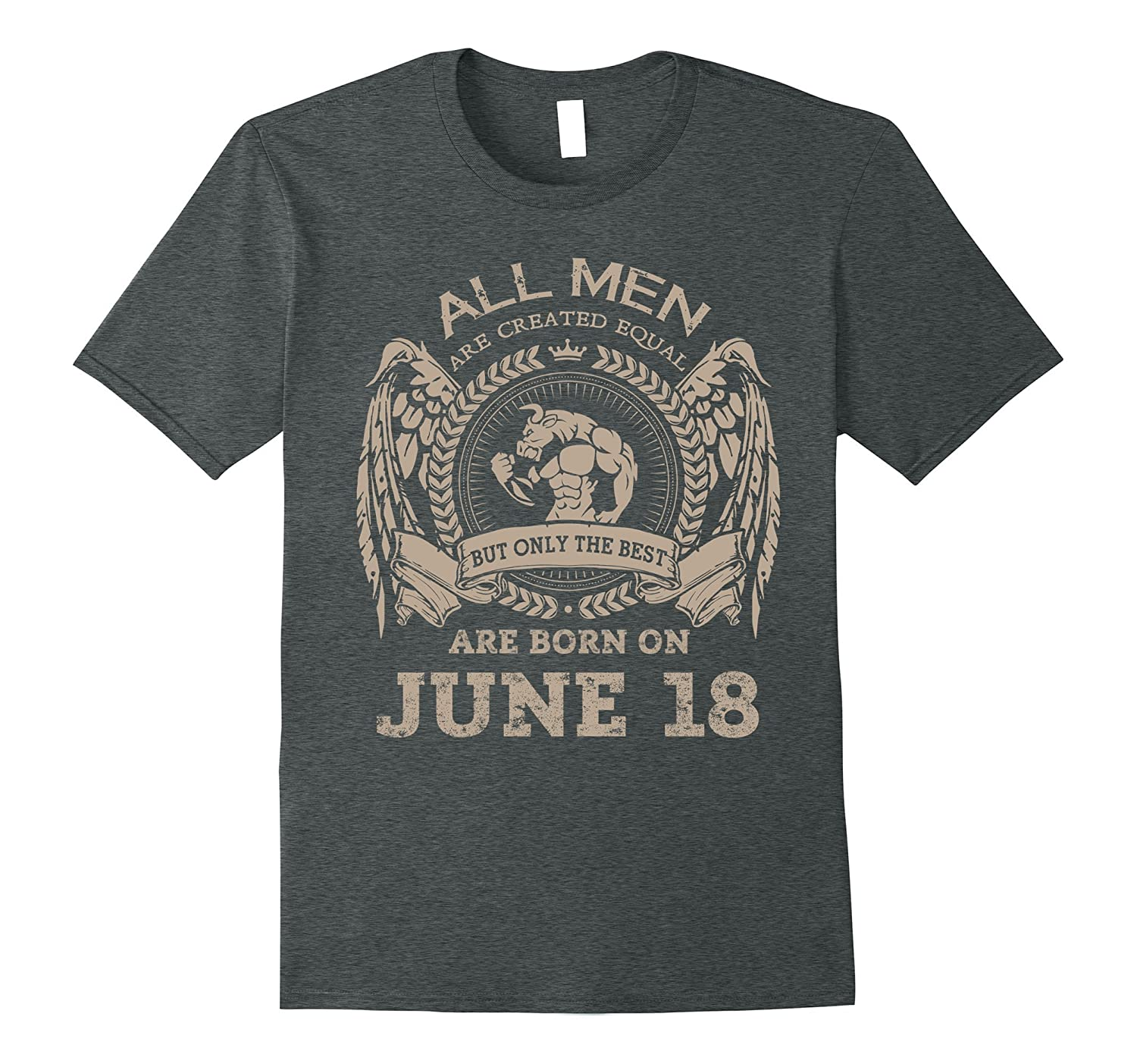 Best Are Born On June 18th T-Shirt Special Edition Tee-Vaci