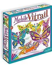 Sentosphère - 243 - Loisir Créatif - Mobile Vitrail - Papillon