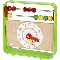 BRIO Abacus with Clock Preschool Toy