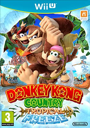 Donkey Kong Country: Tropical Freeze [Importación Francesa ...