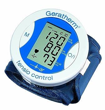 Geratherm tensio control GP-6220 - Tensiómetro de muñeca: Amazon.es: Salud y cuidado personal