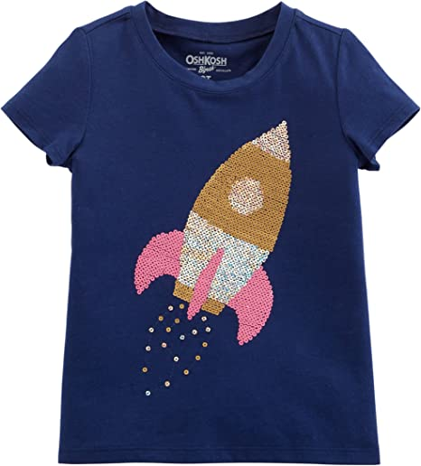 8 Kids, Multi OshKosh Bgosh Big Girls Cotton Patchwork Top
