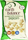 Earth Balance Vegan Aged White Cheddar Popcorn, 7 Ounce