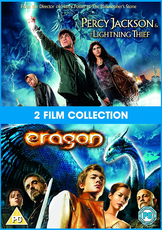 Percy Jackson And The Lightning Thief/Eragon Edizione: Regno Unito Reino Unido DVD: Amazon.es: Movie, Film: Cine y Series TV