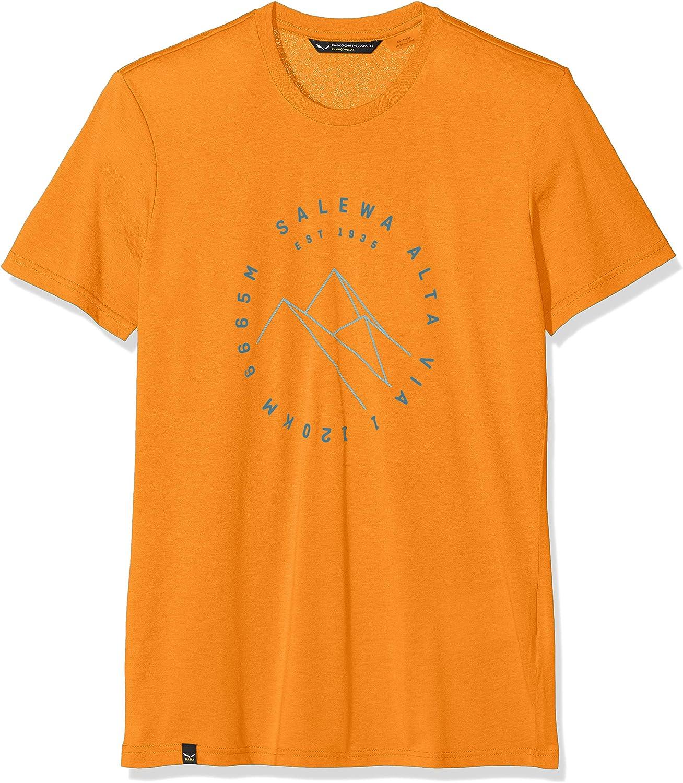 SALEWA Alta Via Dri-rel M S//S tee Camiseta Hombre