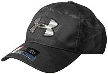819f5ee0 ... clearance under armour mens camo big flag logo cap black 998 charcoal  c8da0 19f6c