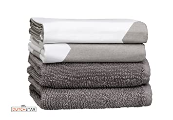 Matching Kitchen Dish Towels Sturdy Decorative Super Absorbent 100% Premium  Natural Cotton Dish And Terry