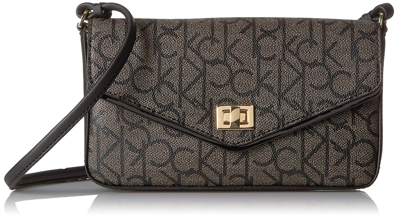 5ecfb40595 Calvin Klein Hudson Signature Flap Crossbody: Amazon.co.uk: Shoes & Bags
