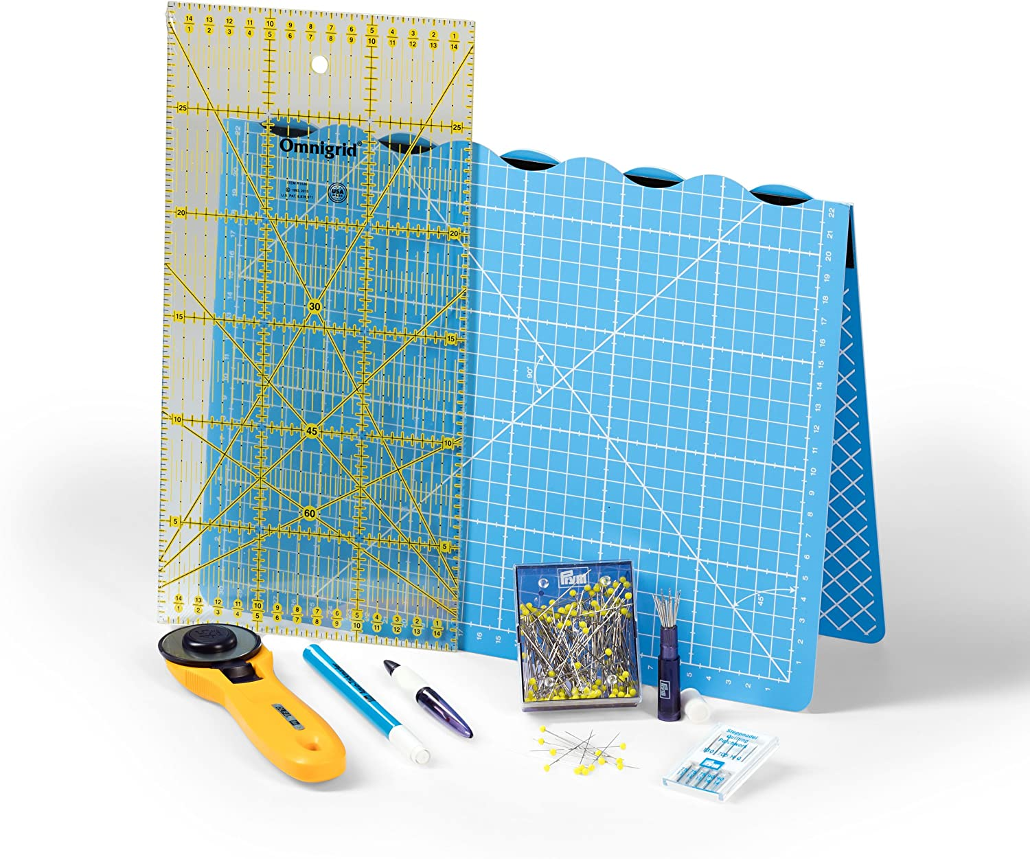 Prym Patchwork & Quilting Starter Set in cm Costura, Multicolor, DE