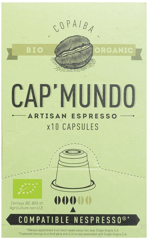 Amazon.com: Cap Mundo Single-Cup Coffee for Nespresso Brewers, Copaiba, 10 Count: Prime Pantry