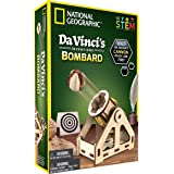 NATIONAL GEOGRAPHIC Construction Model Kit - Build Your Own Wooden Model of The Original Bombard, Learn about Da Vinci's…