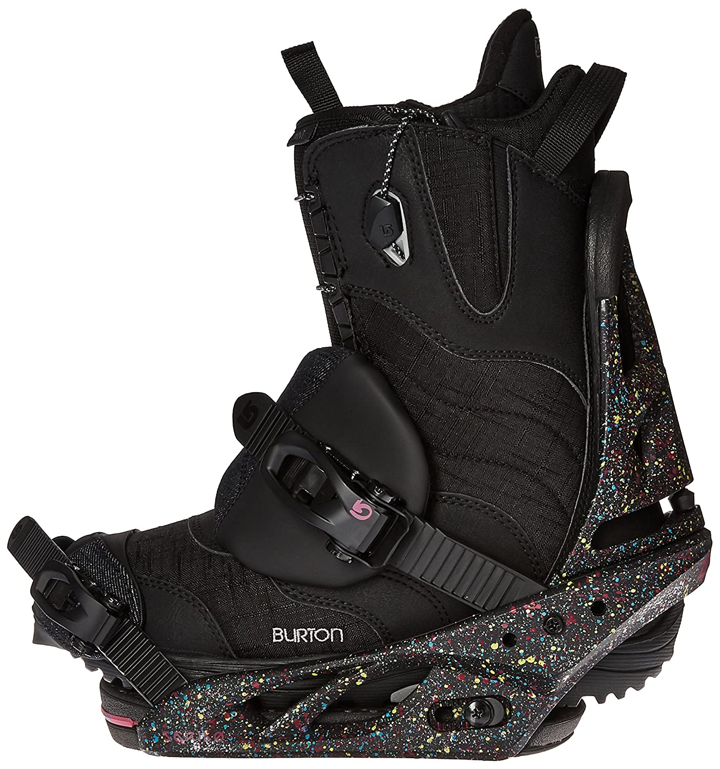 Amazon.com : Burton Womens Scribe Re:Flex 17 Splat A Tat ...