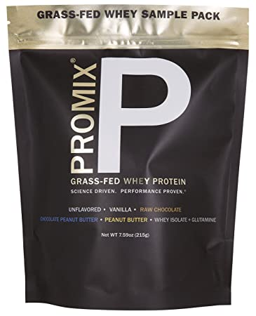 Amazon.com: Whey Protein Powder Sample Pack: PROMIX Standard 100 ...