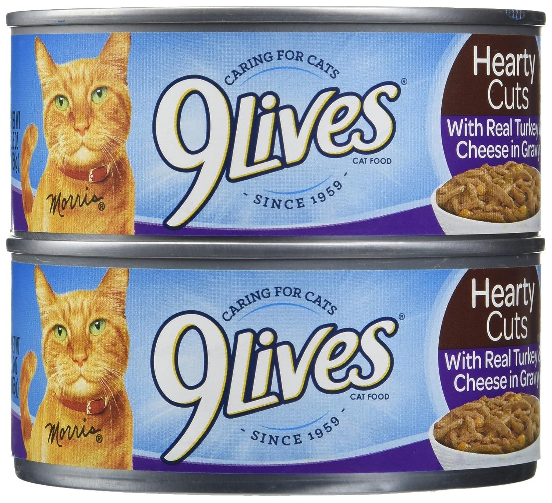 J.M Smucker Company-Big Heart 799188 5.5 oz 9 Lives Turkey & Cheese Dinner (4 Pack)