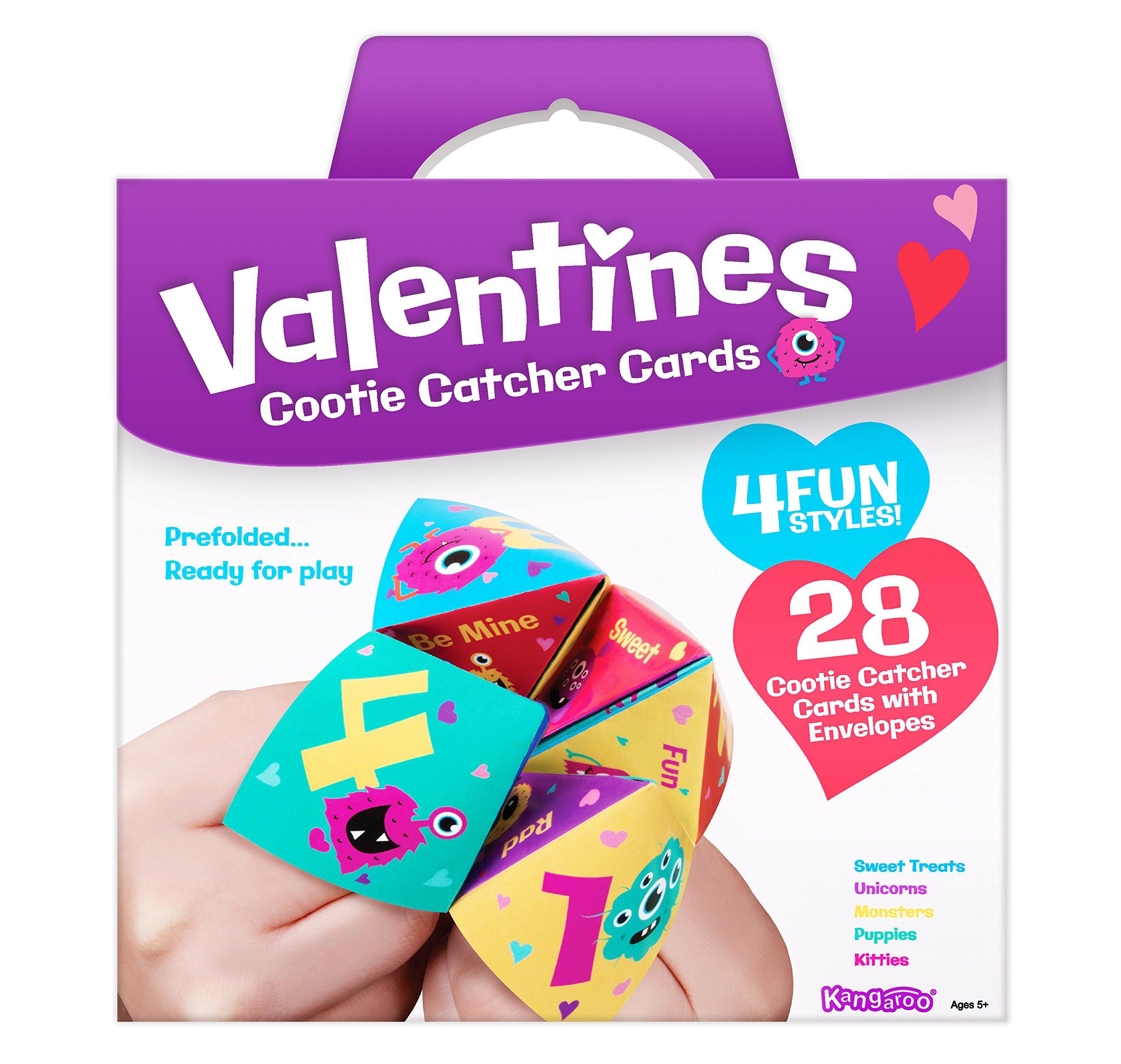 Amazon Kangaroo Rainbow Unicorn Valentine s Cards 28 Count