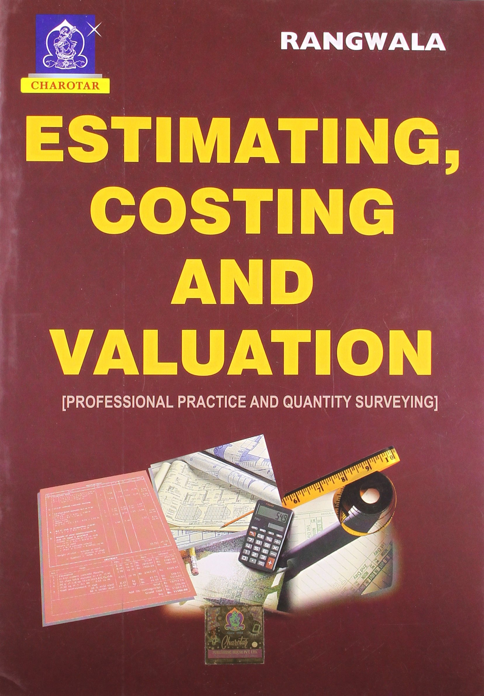 Amazon buy estimating costing and valuation book online at low amazon buy estimating costing and valuation book online at low prices in india estimating costing and valuation reviews ratings fandeluxe Images