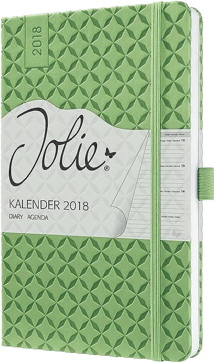 Sigel J8113 - Agenda semanal 2018, color verde