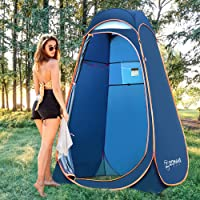 ZOMAKE Pop Up Shower Tent, Portable Camping Toilet Changing Room Privacy Tents for Outdoor Beach