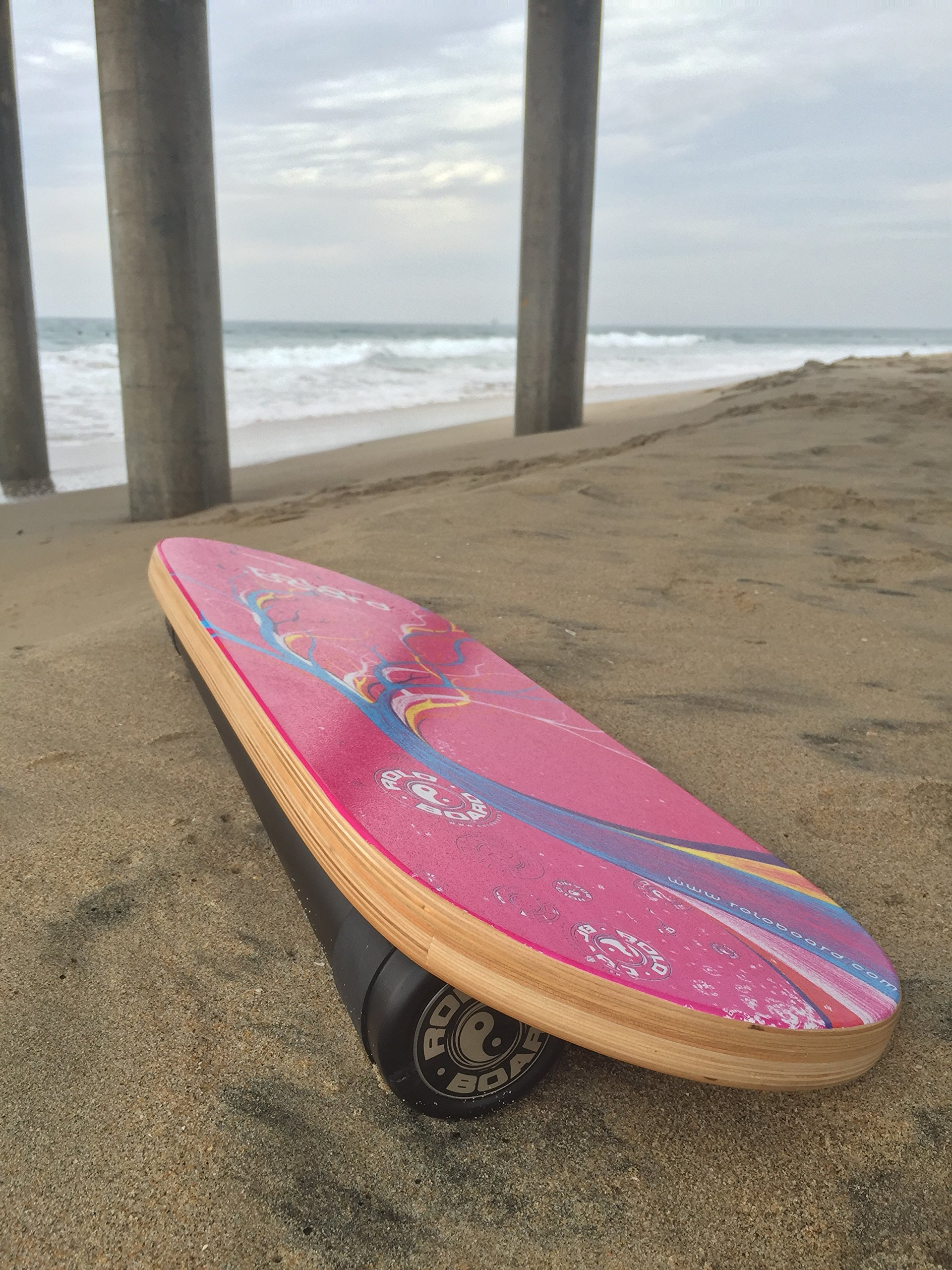 Rolo Balance Board Pink Bliss - Original Training Package by Rolo Board (Image #3)