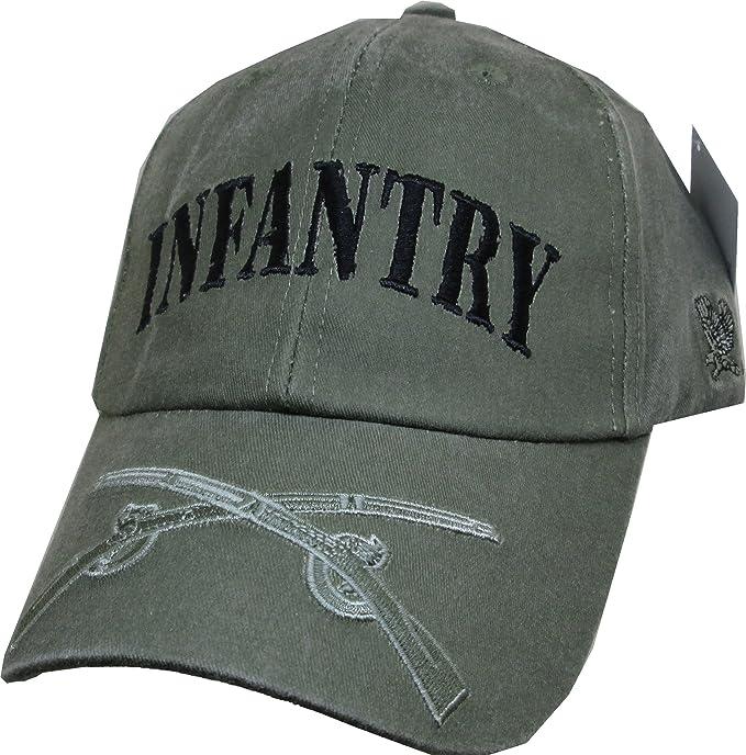 Amazon.com  U.S. Army Infantry baseball cap. OD Green  Clothing 7abf164909ec