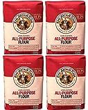 King Arthur Flour, Unbleached Flour, 20 lb (4 Pack 5 lb Each )