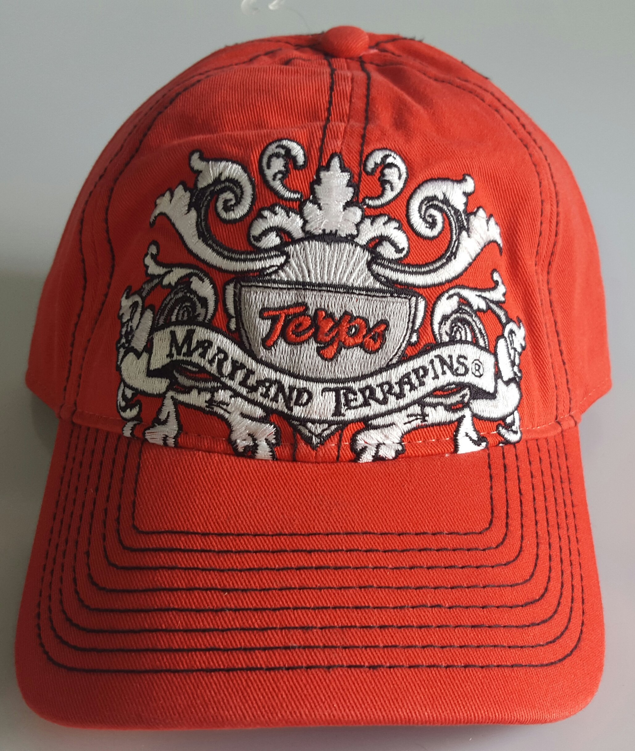 NCAA New Maryland Terps Embroidered Adjustable Buckle Back Cap