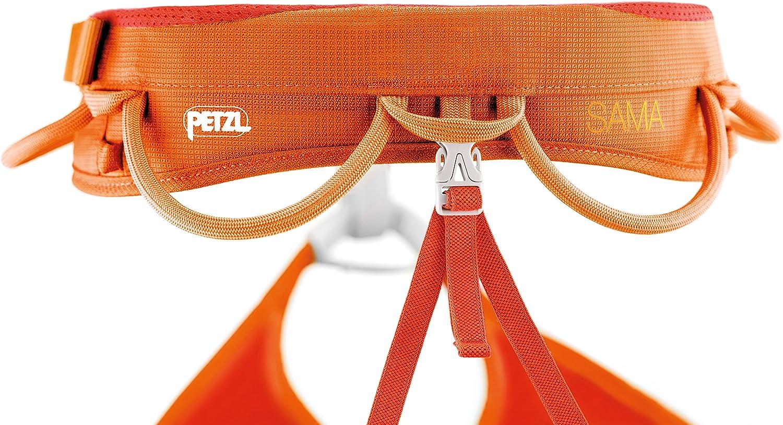PETZL, arnés de Escalada Sama - Rosso Corallo Talla:XL: Amazon.es ...