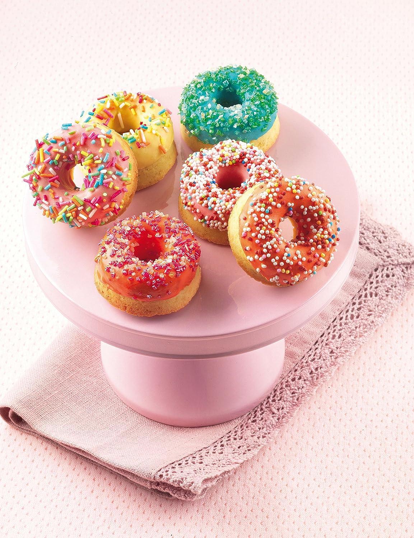 SF171 Molde de Silicona 15 donuts pequeños, color naranja: Amazon.es: Hogar