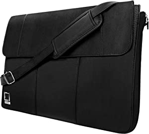 Hybrid 13 Vegan Leather Laptop Bag fits Dell Vostro, Inspiron, Latitude, XPS