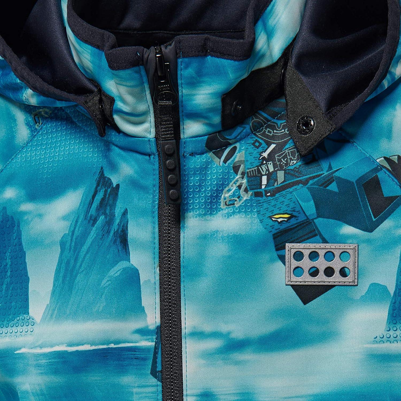 146 Bambino LEGO Wear Lego Tec Sommer Ninjago Siam 204-Softshelljacke Giacca Blu Blue 551