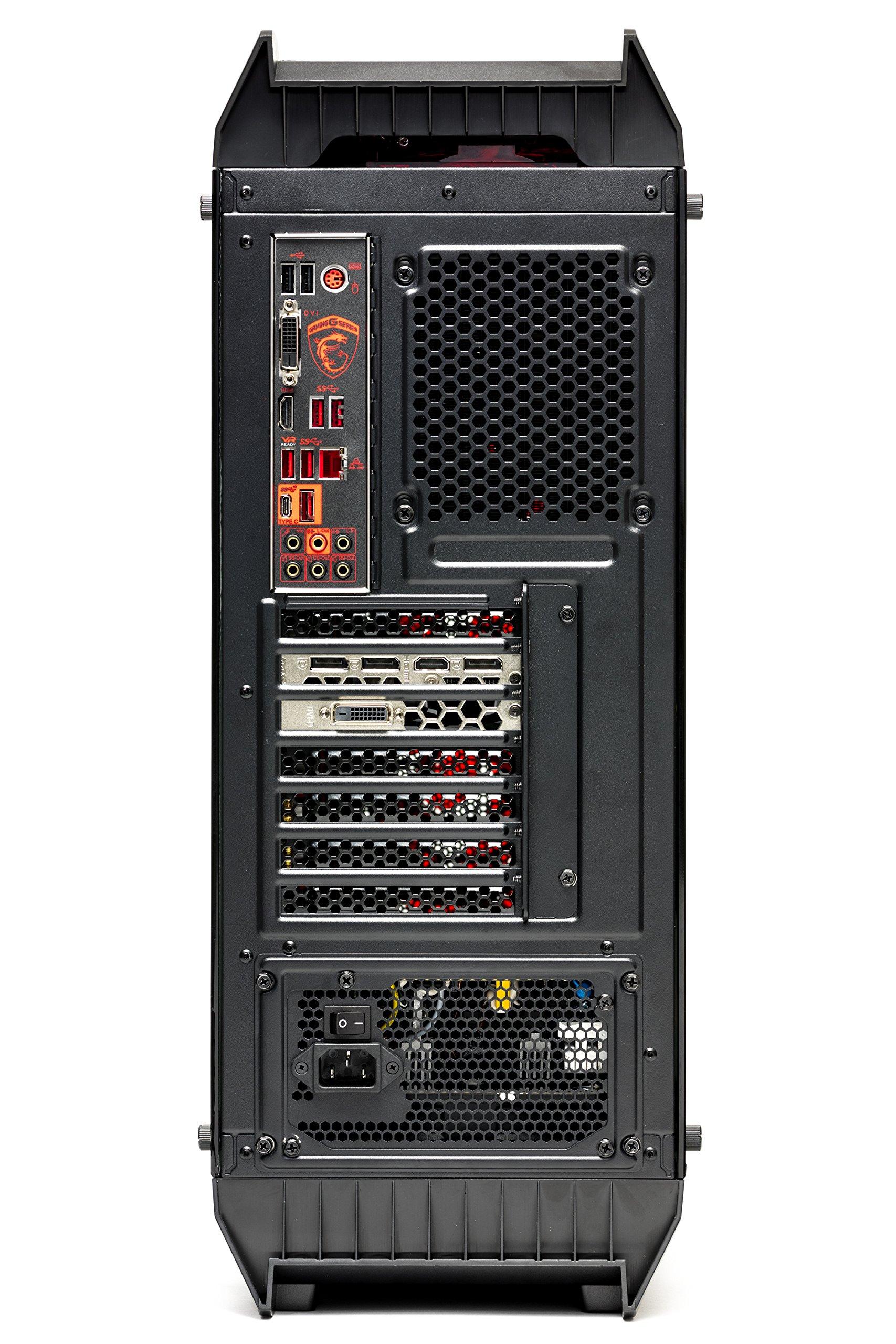 SkyTech Siege - Gaming Computer PC Desktop - RYZEN 7 1700X, Samsung 850 EVO 250GB SSD, GTX 1080 8GB, 120mm Liquid Cool, 2TB HDD, 16GB DDR4, Windows 10 Home (Ryzen 7 1700X | GTX 1080) by Skytech Gaming (Image #7)