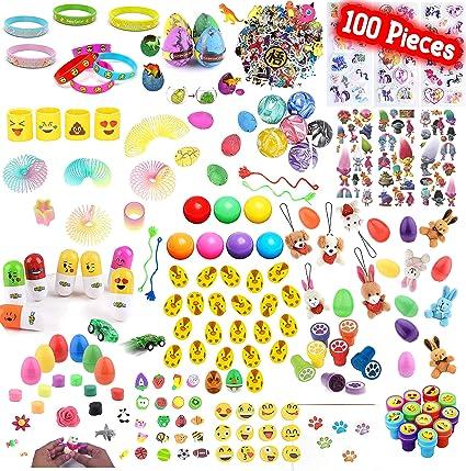 Amazon.com: Playoly 100 piezas de fiesta Favor niños ...