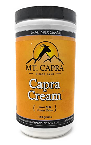 Amazon Com Mt Capra Capra Cream Dried Goat Milk Cream Flakes