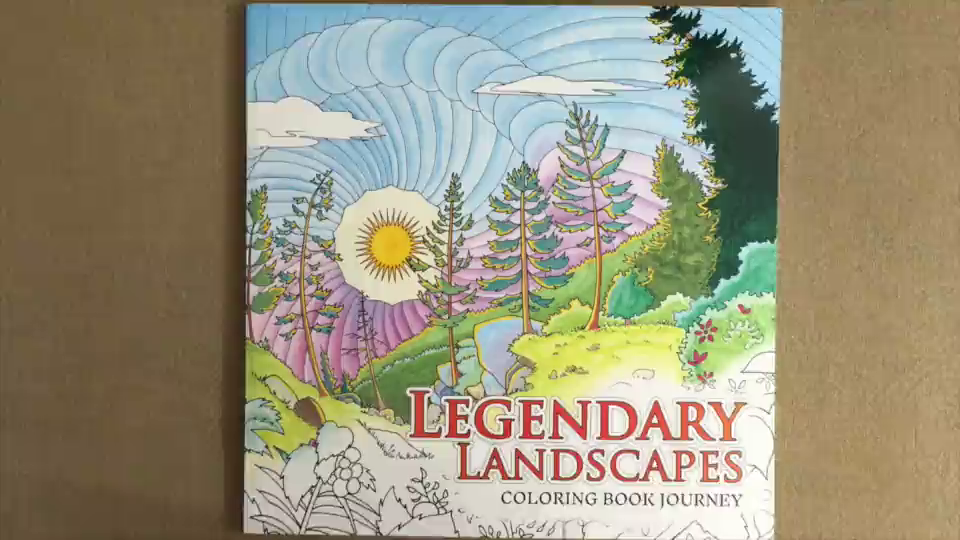 Legendary Landscapes Coloring Book Journey Witek Radomski Carrie