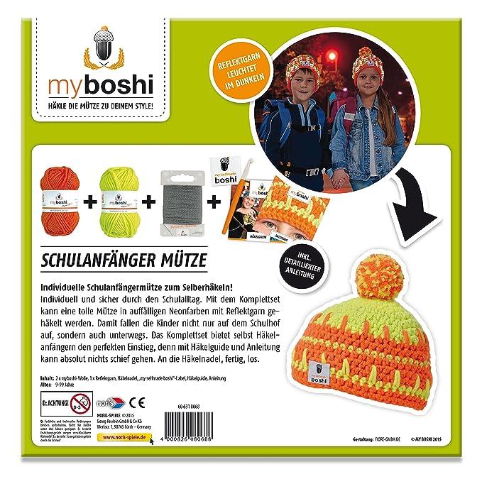 Myboshi 606318068 School Starter Crochet Set Amazoncouk Toys