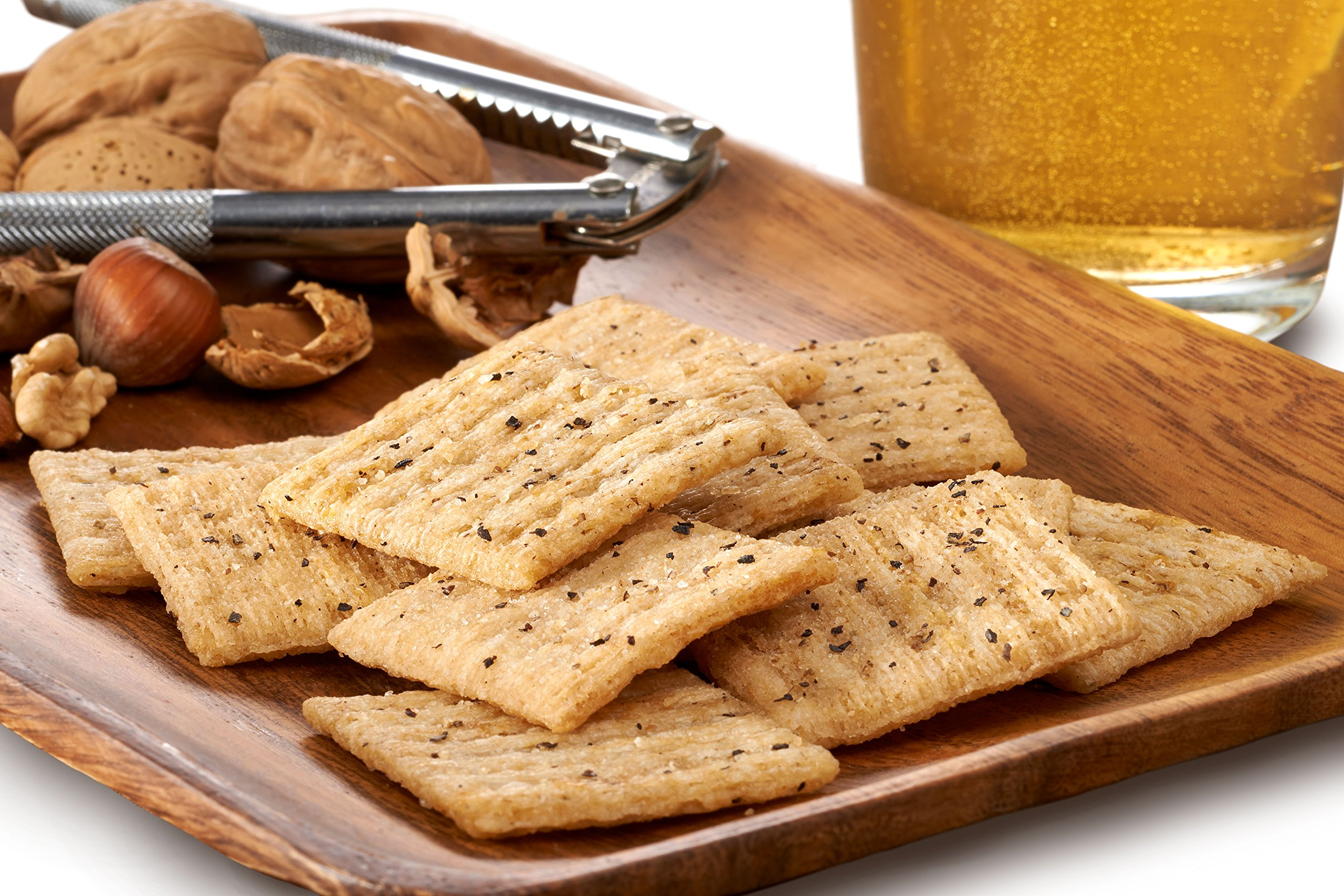 Triscuit Cracked Pepper & Olive Oil Crackers Family Size (Pack of 6) Non-GMO by Triscuit (Image #2)