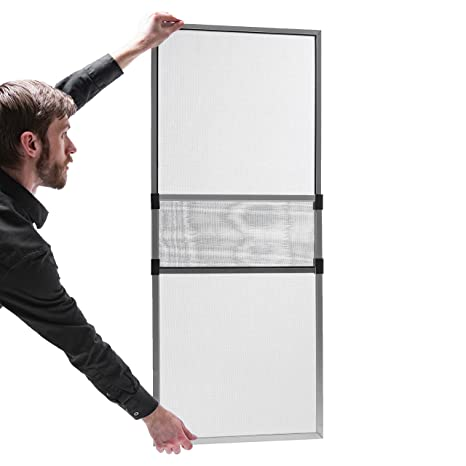 Gentil Adjustable Window Screen Silver Frame 18 X 25 48