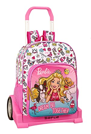 Barbie Celebration Oficial Mochila Espalda Ergonómica Con Carro Safta Evolution: Amazon.es: Ropa y accesorios