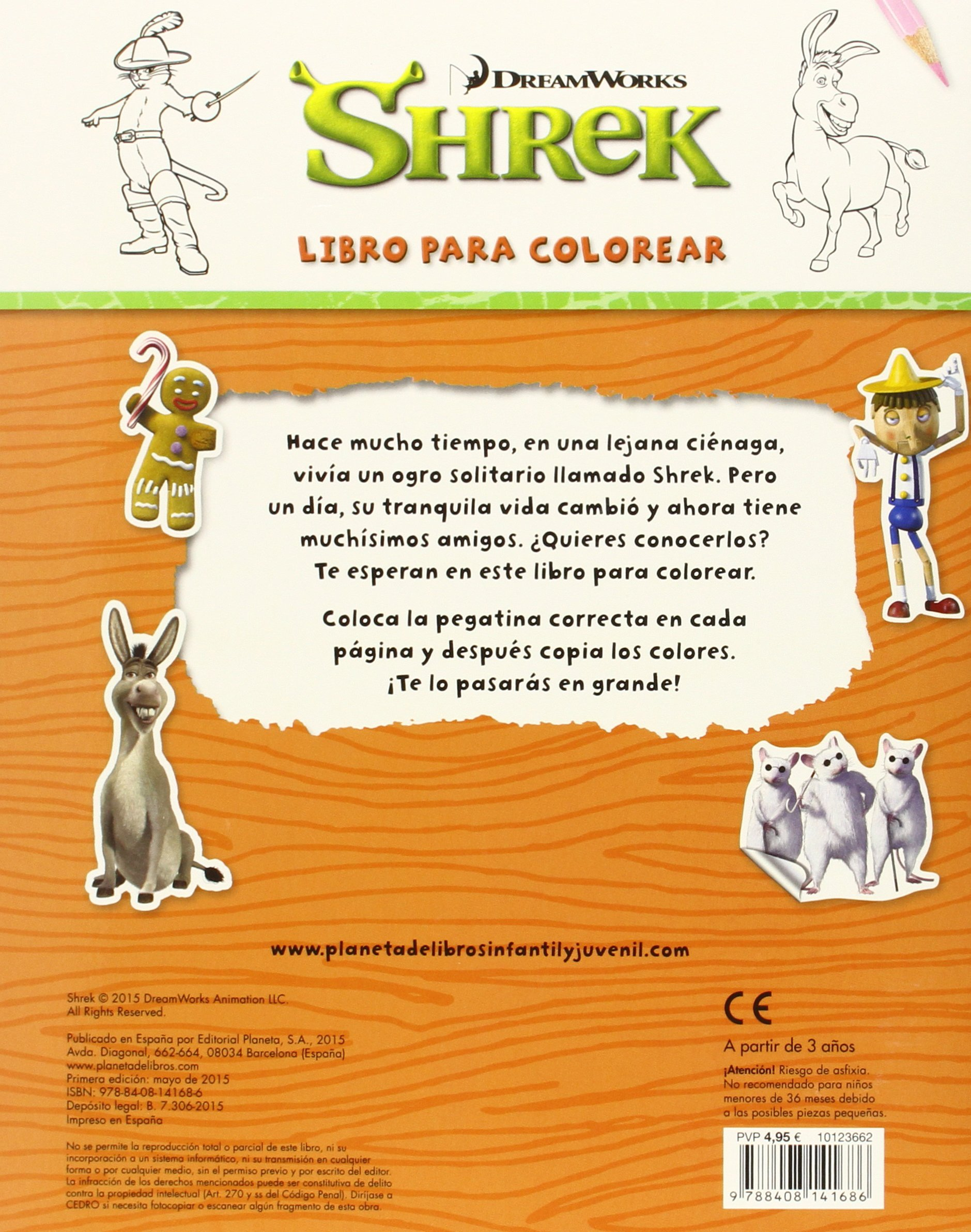 Libro para colorear: Dreamworks: 9788408141686: Amazon.com: Books