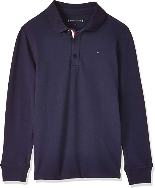Tommy Hilfiger Essential Slim Fit Polo L//S Bambino
