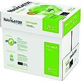 Navigator Eco-Logical Carta Premium per ufficio, Formato A4, 75 gr, Confezione da 5 risme