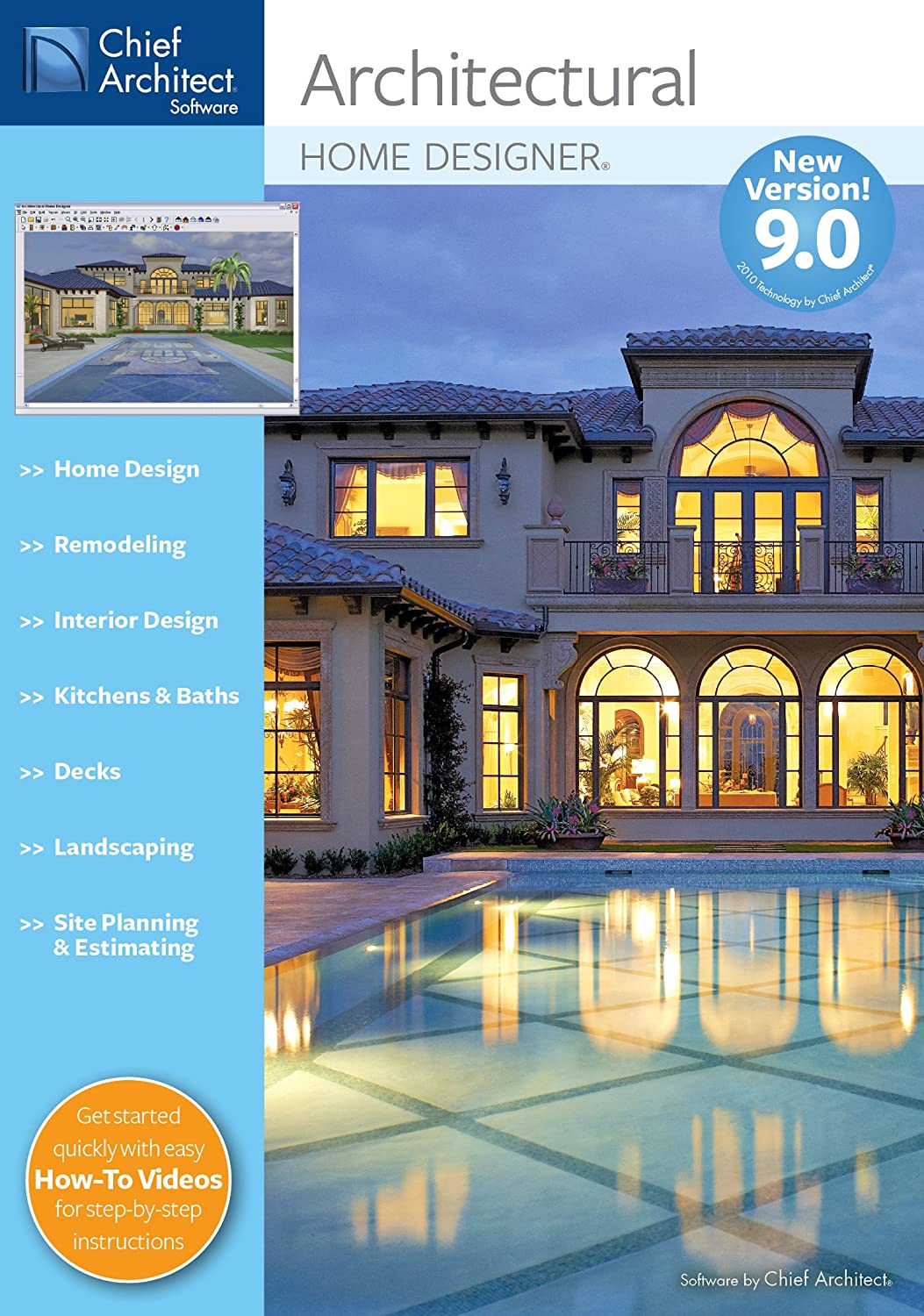 Amazon.com: Chief Architect Architectural Home Designer 9.0 [Download] [OLD  VERSION]: Software