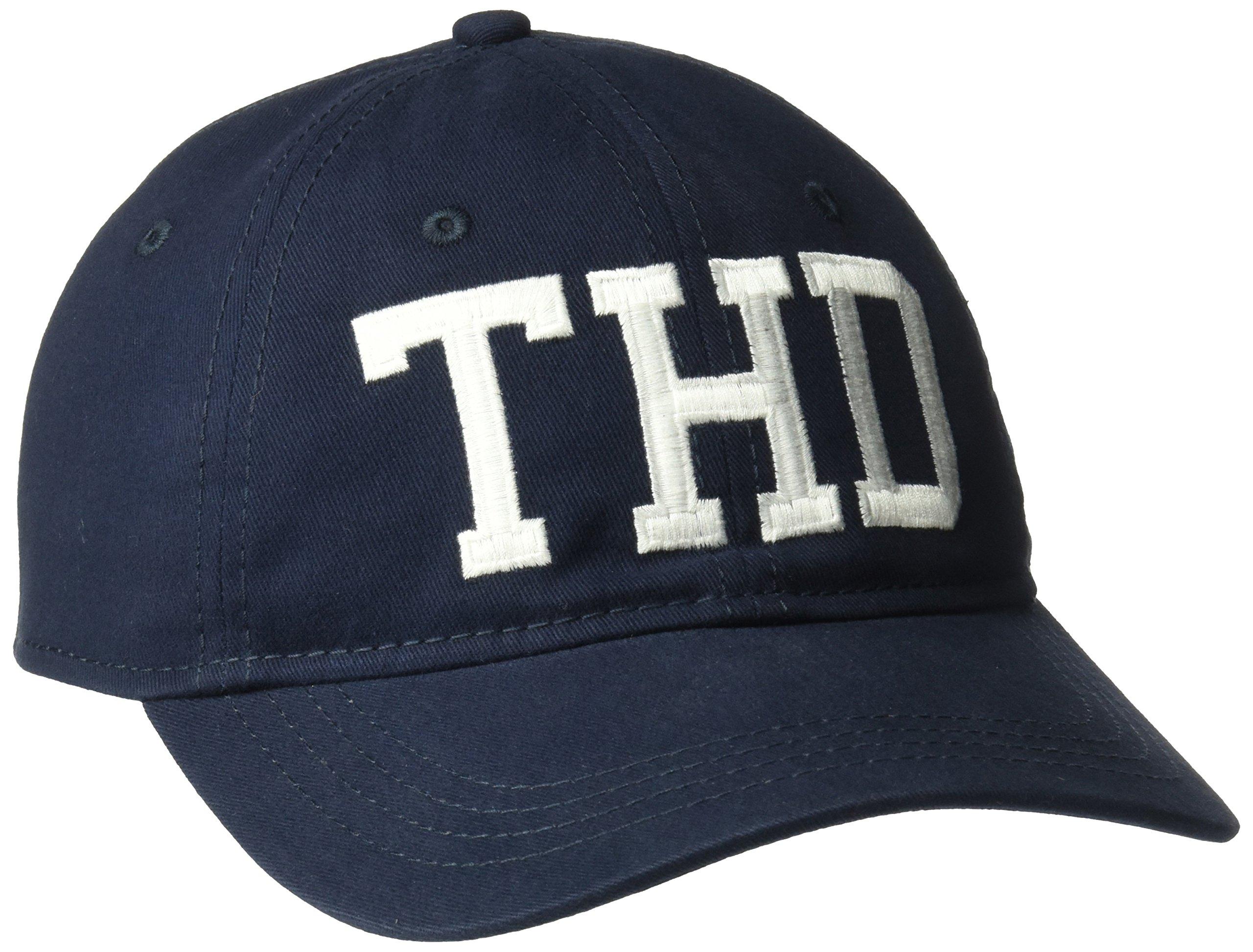 Tommy Hilfiger Men's Sammy Baseball Dad Cap, Navy Blazer, One Size