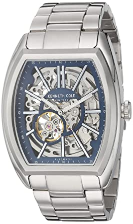 23e173bbf Kenneth Cole New York Men's Automatic-self-Wind Watch with Stainless-Steel  Strap